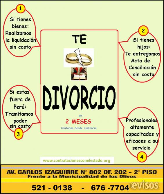 Divorcio rápido en tiempo record