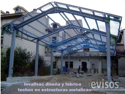 Techos Dos Aguas Y Media Agua Diseño Y Fabricacion