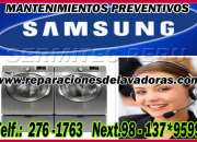 Servicio tecnico de garantía de secadoras samsung (san luis) 2761763