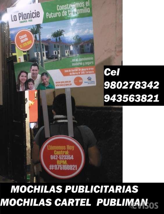 Mochilas cartel