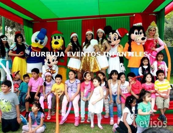 Burbuja eventos fiestas infantiles , show navideño lima