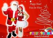Show navideños show infantiles show tematicos papa noel mama noela duendecitas renos lima