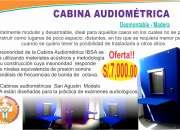 Cabinas audiometricas lima