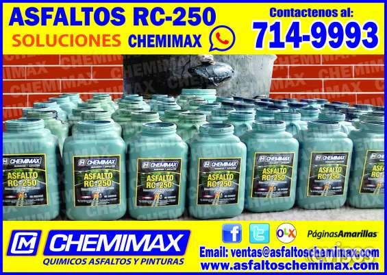 Gran venta rc-250, mc-30, bitúmen