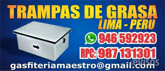 Trampa de grasa carranza 987131301