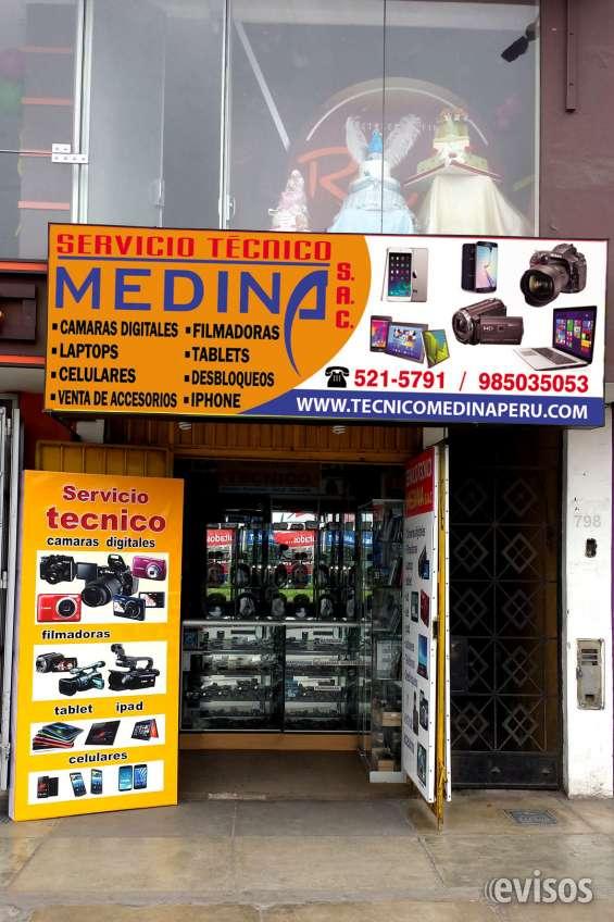 Servicio tecnico de camaras digitales, filmadoras, tablet, laptop