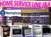 Servicio tecnico //reparaciones & venta de repuestos  white westinghouse //