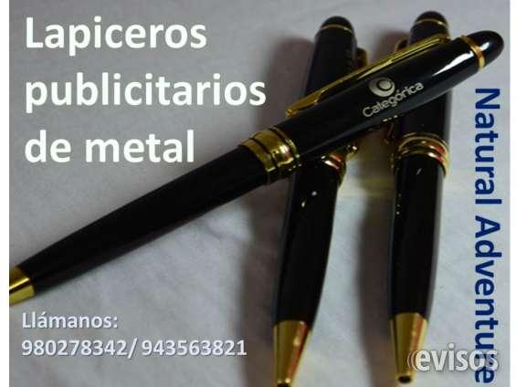 Lapiceros metal publicitarios