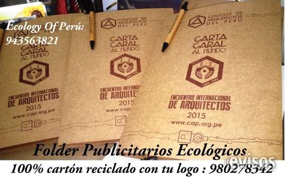 Folderes ecológicos