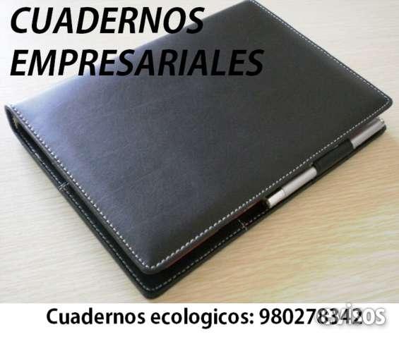 Cuadernos de cuero empresariales