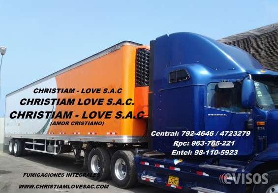 Fumigaciones para furgones, trailer, furgonetas, carretas, camiones 7924646fumigaciones para furgones, trailer, furgonetas, carretas, camiones 7924646