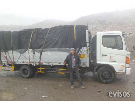 Transporte a la mina las bambas apurimac. perú