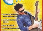 Clases de guitarra en sjl