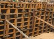 Venta encofrados de madera y metalicos venta y alquiler paneles, vigas h somos fabricantes