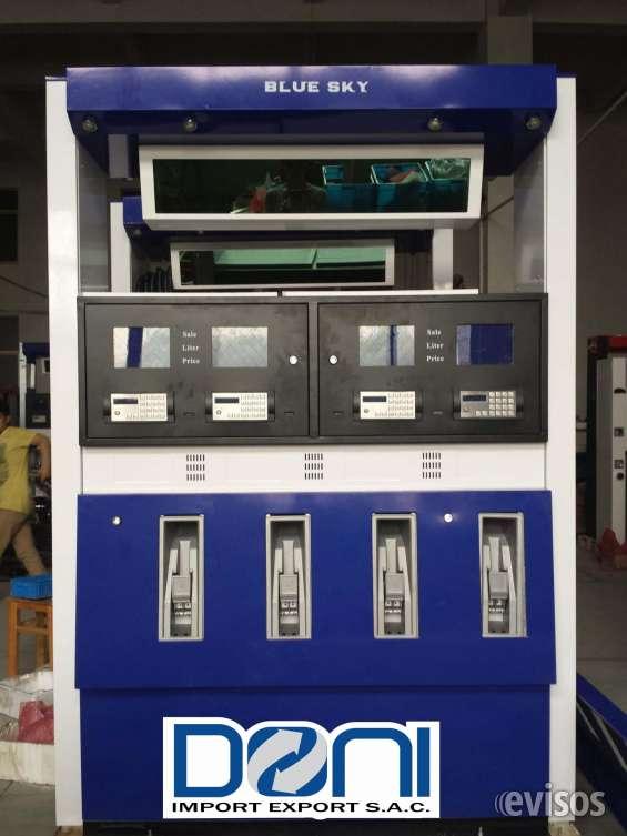 Surtidores y dispensadores glp,gnv y liquidos( combustible)