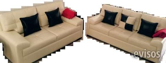 Vendo un juego de sofas: para 3 personas, 2 personas y un sillón de cuero