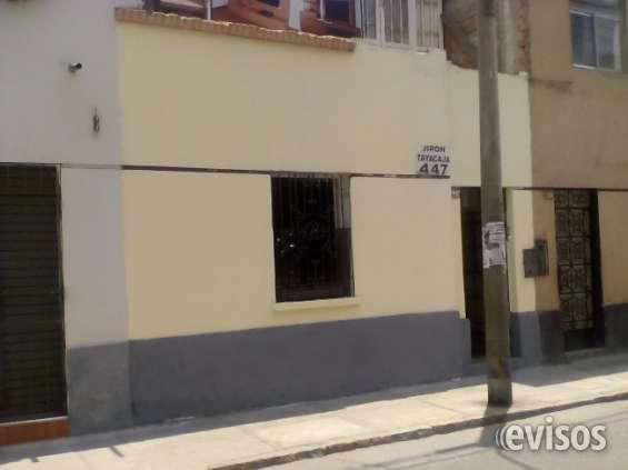 Vendo casa lima centro histórico