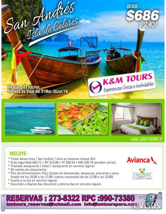 San andres isla de colores 4d/3n desde $ 686