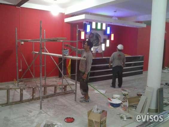Fotos de Decoracion en drywall de karaokes y proyectos.