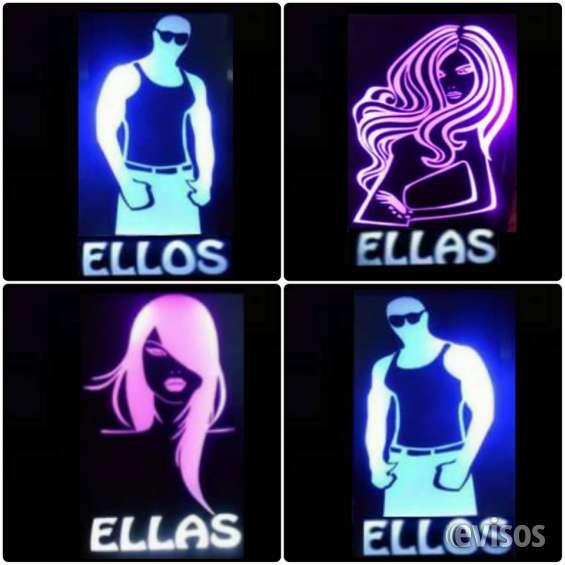 Fotos de Letreros luminosos para tus baños de tu local.. llamanos: 975774329