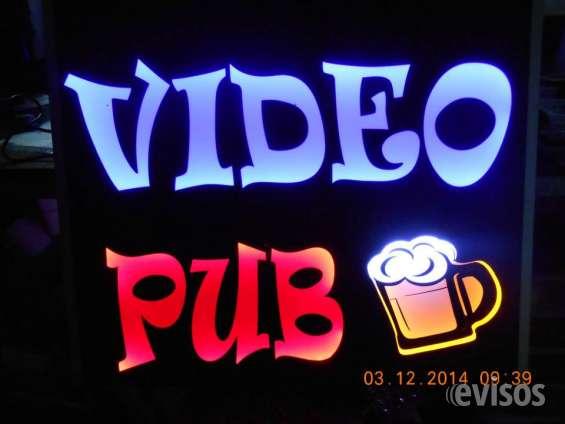 Fotos de Letreros luminosos para tu negocio. llamanos: 975774329