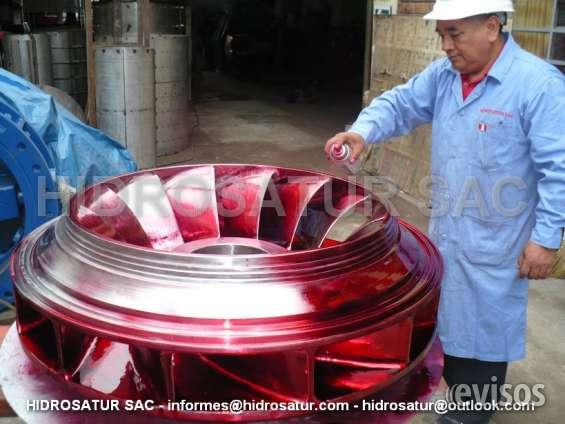 Fabricacion de rodete francis
