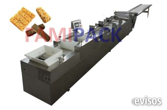 Linea para fabricar barras de cereal