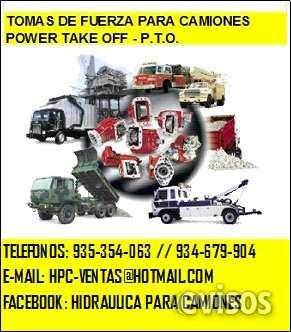 Hidraulica para camiones: tomafuerzas bombas valvulas pistones cilindros