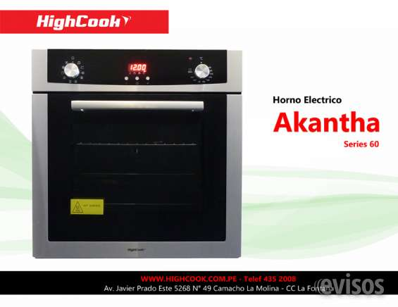 Horno highcook modelo akantha