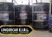 Venta de asfalto liquido rc-250, emulsion asfaltica de rotura lenta