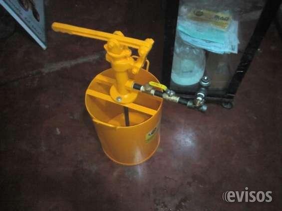 Baldes para pruebas hidrostaticas edumaq 2000 psi