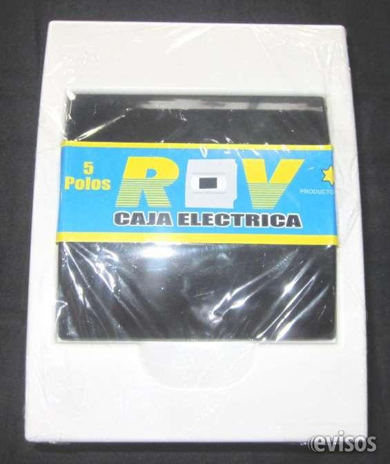 Fotos de Tableros riel pvc y cajas pase envios a provincias gratissssss 3