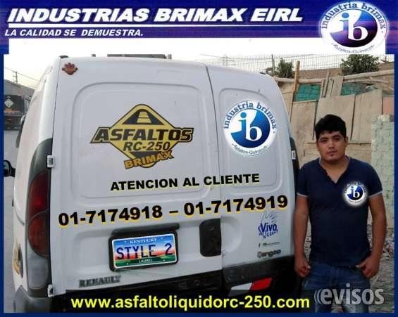 Gran venta de emulsion asfaltica li
