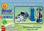 Electro bombas de agua sumergibles pedrollo a domicilio