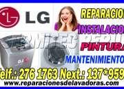 Casa del tecnico ((7378107)) mantenimiento y reparación de de lavadoras secadoras lg