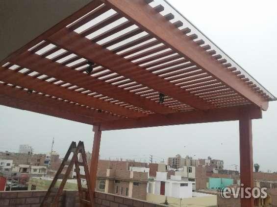 Techos De Madera Para Terraza En Peru En Lima Otros