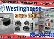 Servicio técnico // westinghouse // lavadoras y centro de lavado 241-1687