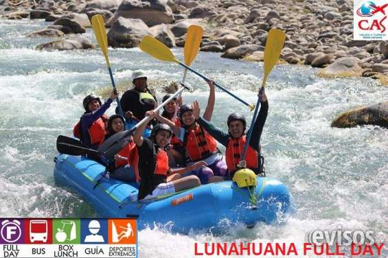 Canotaje - full day lunahuiana