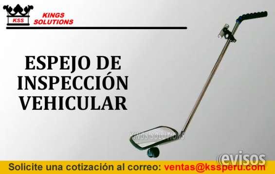 Espejo de inspección vehicular: espejo vehicular: kings solutions - peru