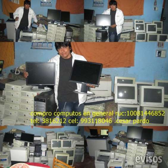 Compro tus computadoras,laptops y computos y cosas en general que ya no das uso en casa o trabajo