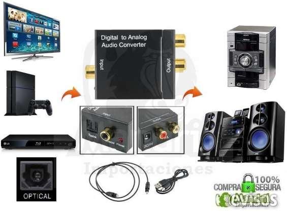 Fotos de Convertidor audo optico audio rca