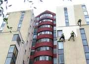 Trabajos en altura - limpieza y pintura de fachadas