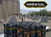 Gran venta e instalacion de mantos asfalticos, gravilado arenado y mas!! lingercar