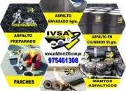 Venta de membranas o mantos asfalticos para techos y jadines !! 975461308