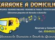 Karaoke a domicilio en ica