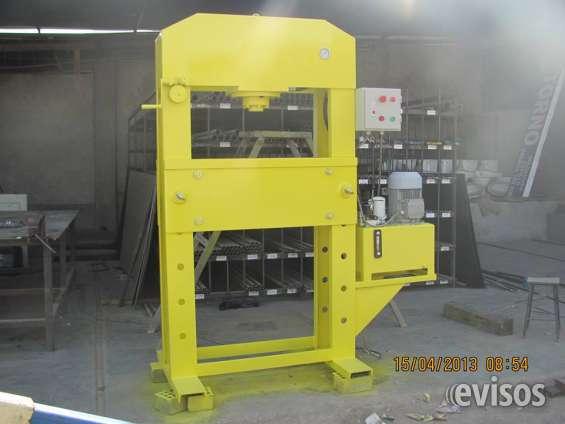 Prensas hidraulicas de 10 a 100 toneladas