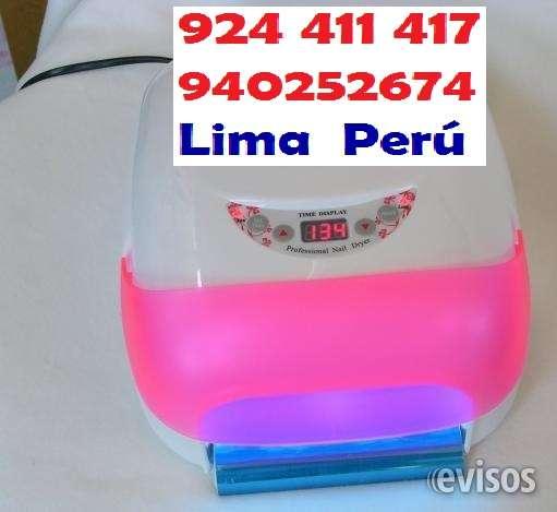 Lampara digital uñas gel 4 focos grande acrigel manicure envios peru