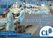 40 operarios c/ sin exp /diferentes zonas huachipa/ate/villa el salvador y callao/oquendo/
