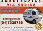 Ambulancias en lima traslados