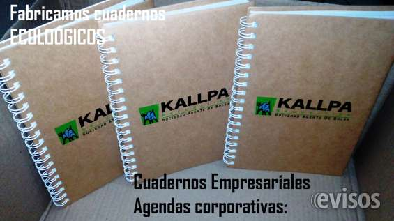 Cuaderno personalizado con tu logo